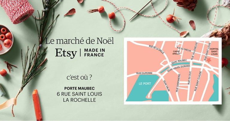 ETSY - Marché de Noel made in France